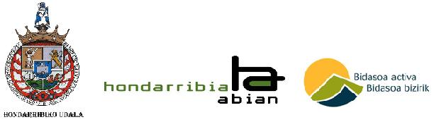 logo hondarribia +habian + bbizirik